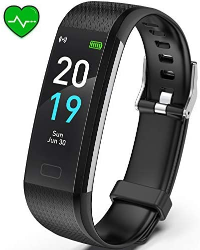 Akasma Fitness Tracker HR, S5 Activity Tracker Watch with Heart Rate Monitor