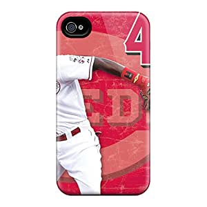 Hot Snap-on Cincinnati Reds Hard Cover Case/ Protective Case For Iphone 4/4s