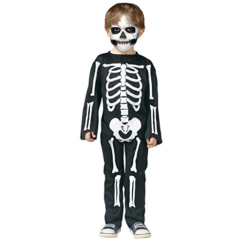 [SaiDeng Halloween Children Mother Father Black and white skeleton Family Costume Kids] (Family Halloween Costumes With Baby And Dog)