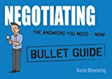 Negotiating, Karen Mannering, 1444132504