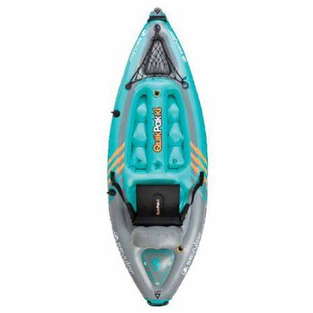 Sevylor K1 Quikpak 1-Person Inflatable Kayak / The Sevylor inflatable kayak 5-minute setup lets you spend more time on the water Easy-to-carry