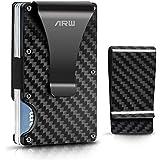 Carbon Fiber wallet, Minimalist money clip slim...