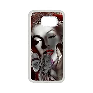 Zombie Marilyn Monroe Cool pictures PC Hard Plastic phone Case Cover For Samsung Galaxy S6 JWH9133945