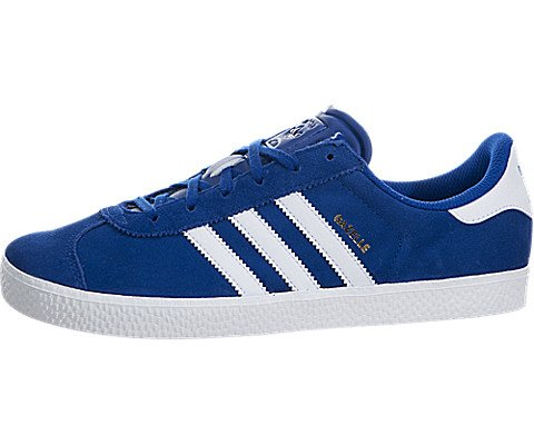 adidas Youths Gazelle 2.0 Blue Suede Trainers 5 US