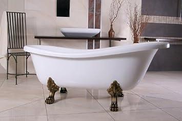 Casa Padrino Freistehende Luxus Badewanne Jugendstil Roma Weiß ...