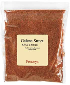 Galena Street Rib And Chicken Rub By Penzeys Spices 9 6 Oz 1 5 Cup Bag