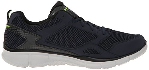 Skechers Sport Mens Equalizzatore Gioco Point Training Sneaker Navy / Lime