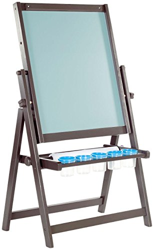Guidecraft 4-in-1 Flipping Floor Easel - Espresso by Guidecraft