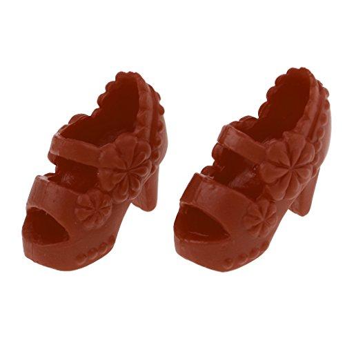 Schuhe Schuhe Azone Blythe Zubehör Puppe 1 Braun Heel Licca Modische 6 Puppen Fenteer Outfit Pumps Sandalen D High Hochhackige Für Weiß qAwxgfE