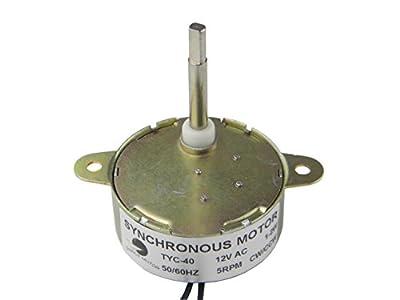 Shaft Length 3.5CM TYC-40 Small Motor 12V AC Synchronous Motor 5RPM Flat Shaft