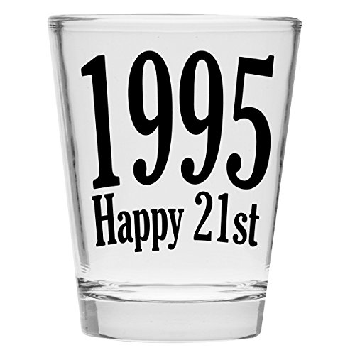 Shot-Glass-1995-Happy-21st-Birthday-Gift-Celebrate-Turning-Twenty-One