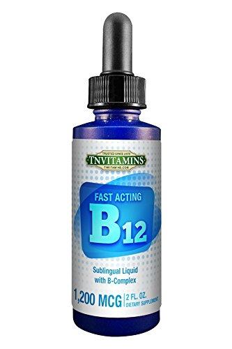 UPC 095234262409, TNVitamins B-12 Liquid With B-Complex - 2 fl oz