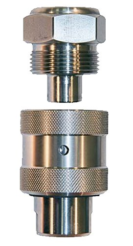 3//8 NPT 15K MAWP Advanced Pressure Systems 20-003-005 Screw Type Coupling Assembly