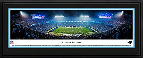 Carolina Panthers - 50 Yard - Blakeway Panoramas NFL Posters with Deluxe Frame (The Dazzle Picture Frames)