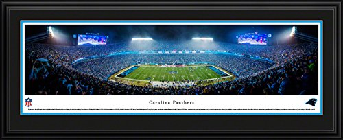 Carolina Panthers - 50 Yard - Blakeway Panoramas NFL Posters with Deluxe Frame
