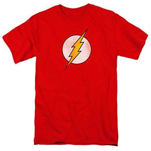 Popfunk Flash Distressed Logo Officially Licensed Adult T Shirt & Stickers