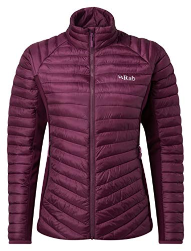 Rab Women's Cirrus Flex Jacket Fast- Drying Warm Light-Weight Jacket Breathable Featherless Insulation