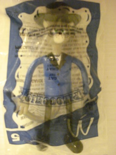 Mcdonalds Pinocchio #5 Bendable Poseable Cat by Miramax Film miramax film corporation