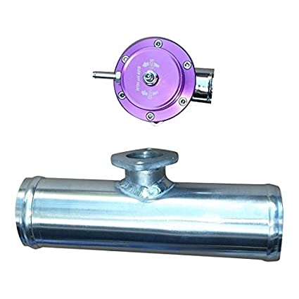 Amazon.com: XS-Power PURPLE 2.5 INCH V-2 ADJUSTABLE TYPE-RS S TURBO BLOW OFF VALVE BOV + FLANGE PIPE: Automotive