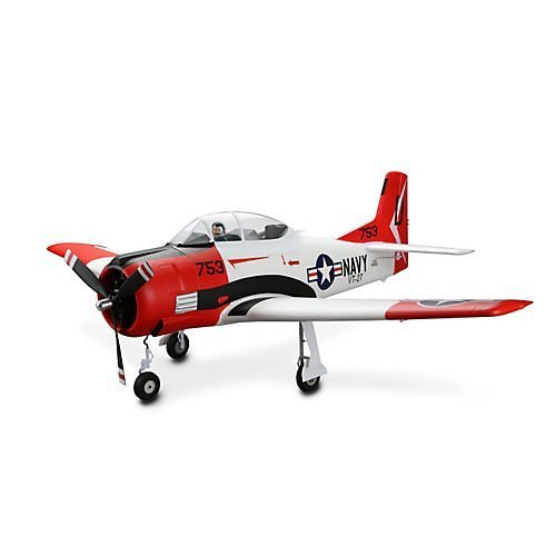 Parkzone Airplanes Rc - E-flite T-28 Trojan 1.2m BNF Basic with AS3X, EFL8350