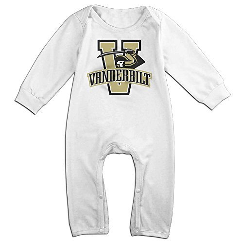 Price comparison product image Vanderbilt University Logo Commodores Baby Onesie Bodysuit Toddler Clothes Jumpsuits Longsleeve
