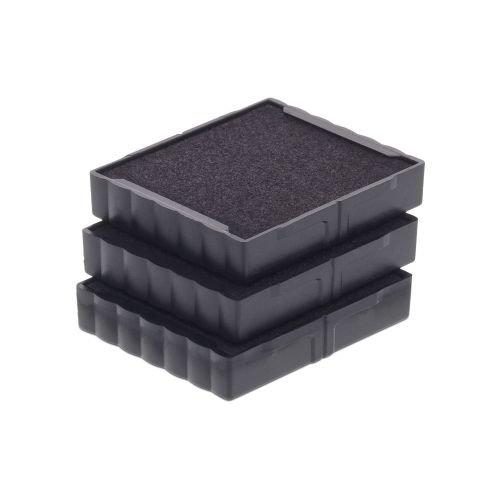 Trodat Replacement Ink Cartridge 6/4923 - pack of 3 Color black