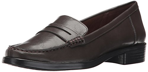 A2 by Aerosoles Women's Side Dish Slip-On Loafer, Brown, 8 M US
