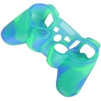 Tarnung Blau + Grün Antislip Silikonhülle Schutzhülle Packung Von 2