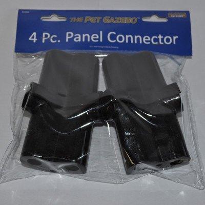 3'' H x 2'' W x 1'' D Pet Gazebo 4 Piece Connector