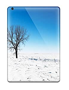 Perfect Fit PldZTaI4129LKiZY Alone In Snow Case For Ipad - Air