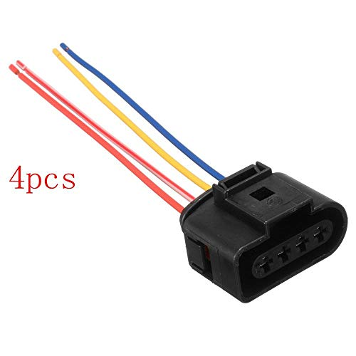 4pcs/lot 1J0973724 Ignition Coil Connector Plug Pack Wiring Loom For AUDI/VW/SKODA SEAT for FORD: