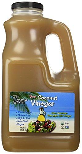 - Coconut Secret - Raw Organic Coconut Vinegar - 1 Gallon/10 Pounds