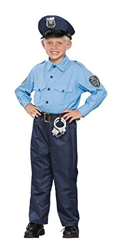 Seasons 196520 Deluxe Policeman Child Costume Size: Medium (8-10) (Policeman Costumes)