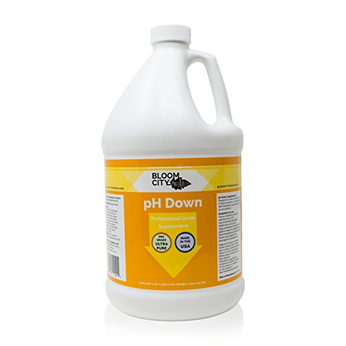 Bloom City Professional pH Down Liquid Fertilizer, Gallon (128 oz)