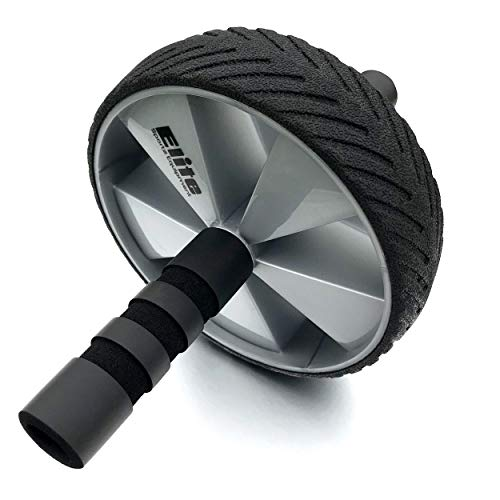 Elite Sportz Equipment Ab Wheel Rollers - Our Ab Exercise Wheels are Sturdy, Smooth Rolling, and has Non- Slip Handles