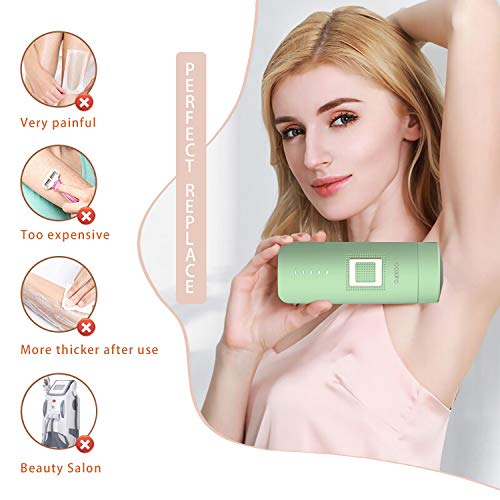 CAXIRO IPL Hair Removal Device for Women and Man Painless Permanent Epilation for Body, Face & Precision Areas (Bikini and Underarms)