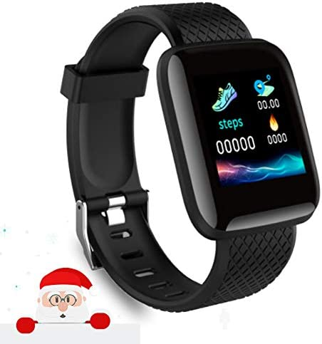2021 New Model Smart Watch, Men's and Women's Fitness Tracker, Blood Pressure Monitor, Blood oximeter, Heart Rate Monitor, Waterproof Smart Watch, Compatible with iPhone/Samsung/Android Phones