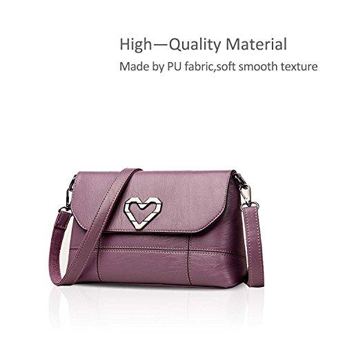 ON messenger BIG Bag Purple Ladies a NICOLE Clutch DORIS bag sale Purple handbag small Envelope crossbody shoulder amp; mini EqxwFwCPH