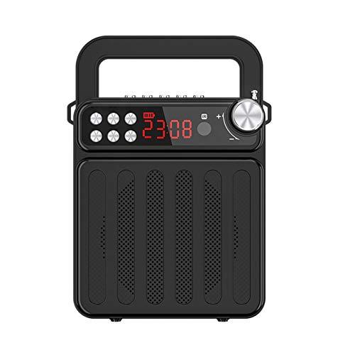 Bluetooth-luidspreker, draagbare draadloze Bluetooth-luidspreker FM-radio met handvat en standaardluidspreker voor…