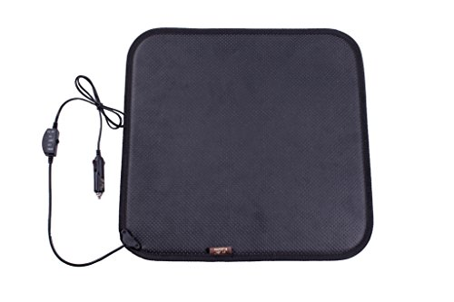 Facon 12Volt Heated Seat Cushion with 3-Way Temperature Controller for Car Trucks Vehicle