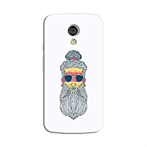 Cover It Up - Hipster Yogi moto G2 Hard Case