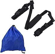 Kayak Carry Strap, SUP Paddleboard Carrier Sling Strap Adjustable Surfboard Carrier with Shoulder Pad