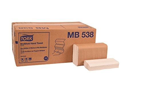 North America Paper Towel - Tork MB538 Universal Multifold Hand Towel, 1-Ply, 8.1