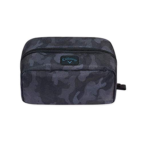 Callaway Golf Clubhouse Dopp Kit Toiletries Wash Bag Travel - Charcoal