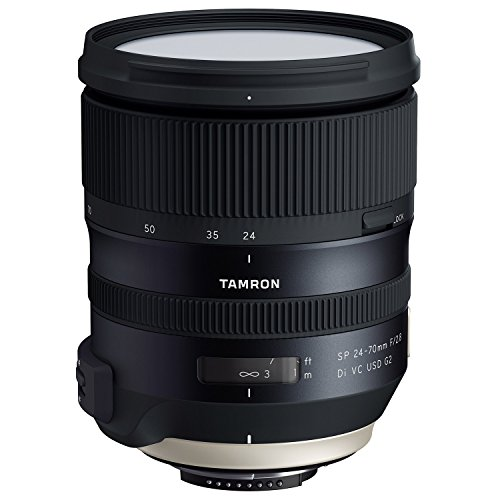 Tamron 24-70mm f/2.8 Di VC G2 USD SP Zoom Lens for Nikon