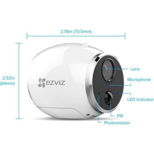 Ezviz Minitrper Bndls W 8gb Microsd Surveillance And