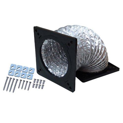 Akust 80mm 90mm Air Ducting Thermalhood Case Fan Adapter Black