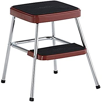 Amazon Com Cosco Green Retro Counter Chair Step Stool