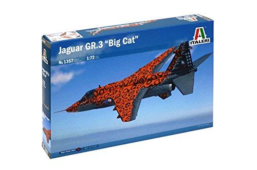 1357 Italeri 1:72 - Jaguar Gr.3 `big Cat` Special Colorsの商品画像