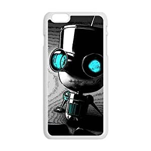 Cute Seated robot Cell Phone Case for Iphone 6 Plus